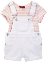 7 For All Mankind 2-Piece Set (Toddler Girls)