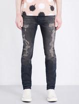 Diesel Sleenker 084DL distressed slim-fit skinny jeans