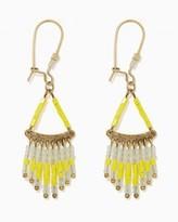 Charming charlie Saint-Tropez Fringe Earrings