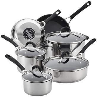 Circulon 10-pc. Stainless Steel Non-Stick Cookware Set