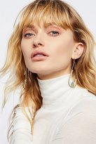 Free People Raw Crystal Formation Hoops