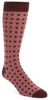 Ted Baker Dot & Stripe Pattern Organic Cotton Socks