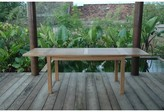"""Beachcrest Home Bahama 95"""" Table with Double Leaf Extensions"""