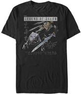 Fifth Sun Men's Tee Shirts BLACK - Legend of Zelda Black Link Ready Tee - Men
