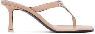 Alexander Wang Beige Ivy 65 Heeled Sandals