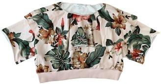 Philosophy di Lorenzo Serafini Pink Cotton Top for Women