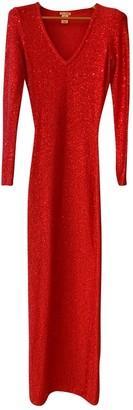 Oscar de la Renta Pink Cotton Dresses