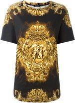 Balmain baroque print T-shirt
