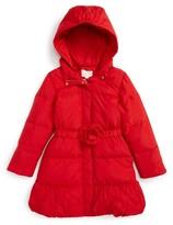 Kate Spade Girl's Rosette Down Puffer Jacket