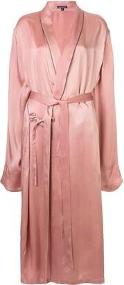 Ann Demeulemeester loose fit long kimono jacket