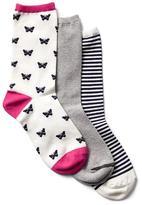 Cozy crew socks (3-pair)