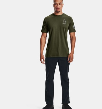 Under Armour Men's UA Freedom Back Stripe T-Shirt