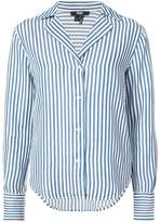Paige striped long-sleeve shirt