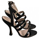 Vivienne Westwood Black Patent leather Sandals