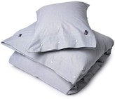 Lexington Company Lexington American Pin Point Oxford Duvet Cover - Navy/White - King