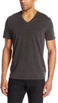 AG Adriano Goldschmied Men's Commute V Neck Supima Jersey Tee