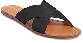 Jack Rogers Women's Sloane Slotted Crossover Slide Sandals