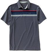 Under Armour Golf Horizontal Striped Short-Sleeve Playoff Polo Shirt