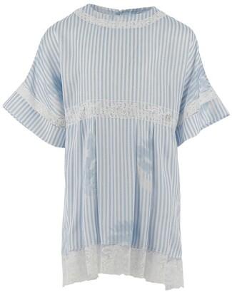 Ermanno Scervino Lace-Trim Striped Dress (4-14 Years)