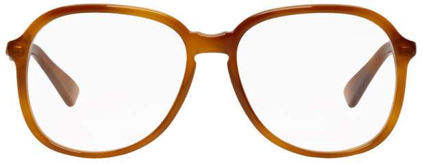 Gucci Tortoiseshell Big Glasses