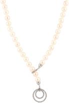 Bella Pearl Pearl & Cubic Zirconia Adjustable Necklace