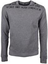 Valentino Round Collar Sweatshirt