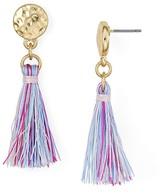 Aqua Leilani Tassel Drop Earrings - 100% Exclusive