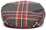 Dolce & Gabbana tartan newsboy cap
