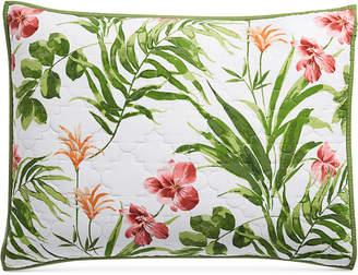 Martha Stewart Collection Tropical Floral Standard Sham