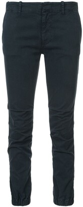 Nili Lotan Creased Detail Jeans With Ruched Cuffs