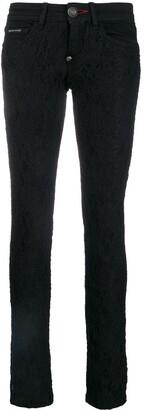 Philipp Plein lace skinny jeans