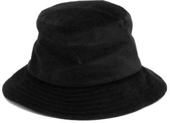 Margaret Howell Cotton Corduroy Bucket Hat - Womens - Black