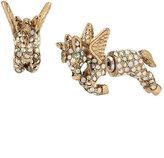 Betsey Johnson Summer Minis Unicorn Earrings