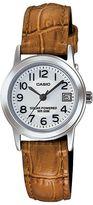 Casio Women's Classic Leather Solar Watch - LTPS100L-7B2VCF