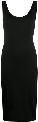 Alice + Olivia Fitted Bodycon Midi Dress