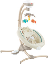 Fisher-Price Soothing Savanna Cradle Swing