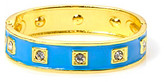L.J Accessories L&J Accessories Enamel and Crystal Hinged Bangle