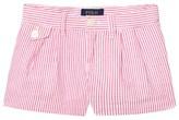 Ralph Lauren Pink Seersucker Shorts