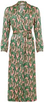 Phoebe Grace Angelica Gown in Pink Cactus Print