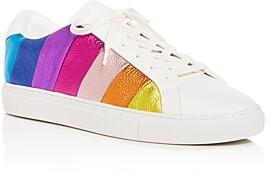 Kurt Geiger Women's Lane Stripe Low-Top Sneakers
