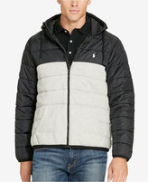 Polo Ralph Lauren Men's Big & Tall Quilted Hybrid Jacket