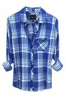 Rails Hunter Plaid Shirt in Blue/Violet