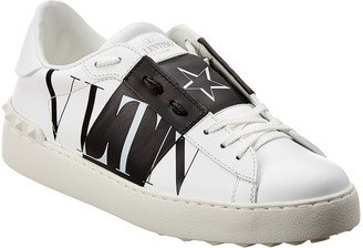 Valentino Open Vltnstar Leather Sneaker