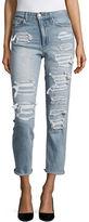 Joe's Jeans Distressed Ankle Jeans