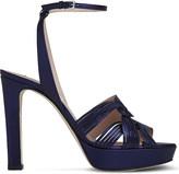 LK Bennett Leighton leather platform sandals
