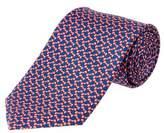 Brooks Brothers Pink Bowtie Print Silk Tie.