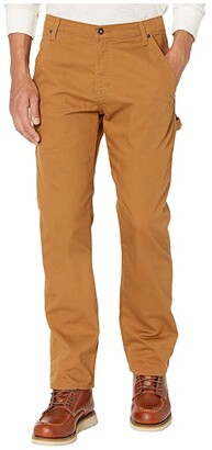 Dickies Stretch Duck Carpenter Pants (Stonewashed Brown Duck) Men's Jeans