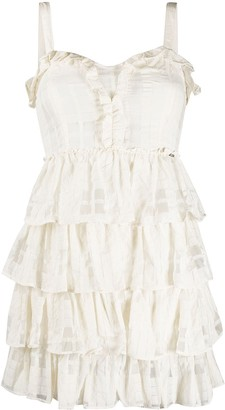 Liu Jo Ruffle Tiered Dress