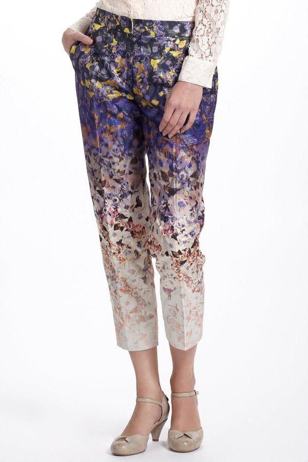 Anthropologie Ombre Flora Crops