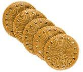 Kim Seybert Set of Ten Beaded Coasters w/ Tags